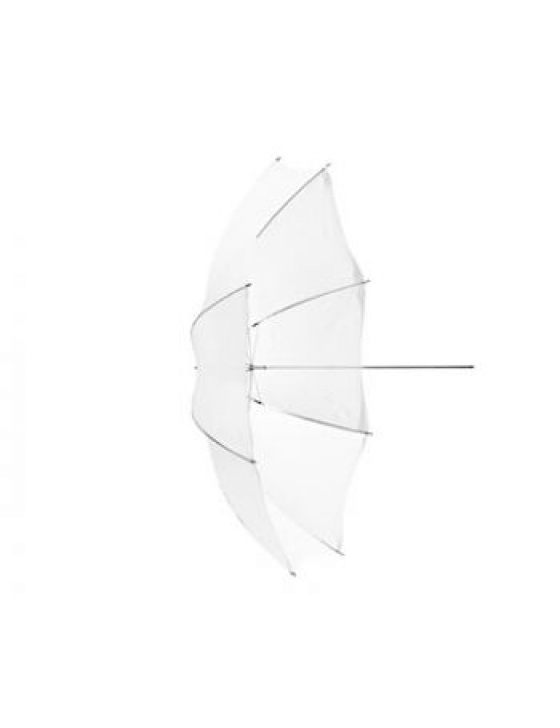 Blitzschirm Shallow Translucent M (Durchlicht, 105cm)