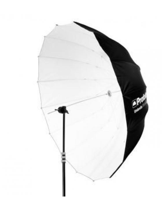 Blitzschirm Deep White XL (weiss, 165cm)