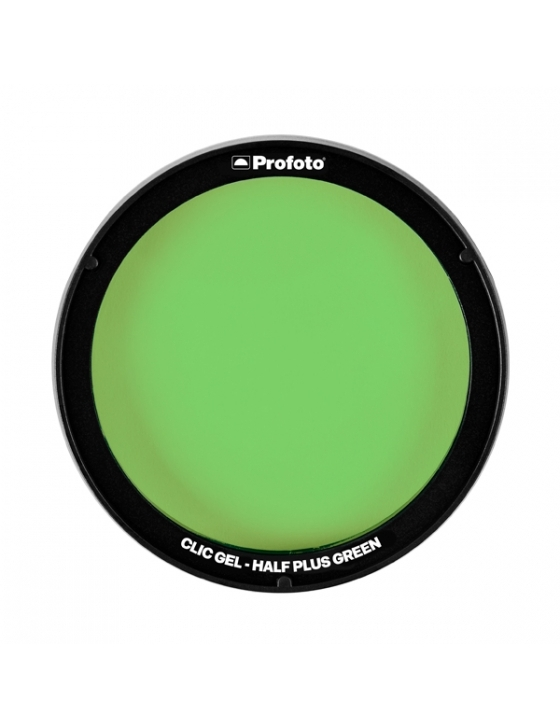 Clic Gel Half Plus Green