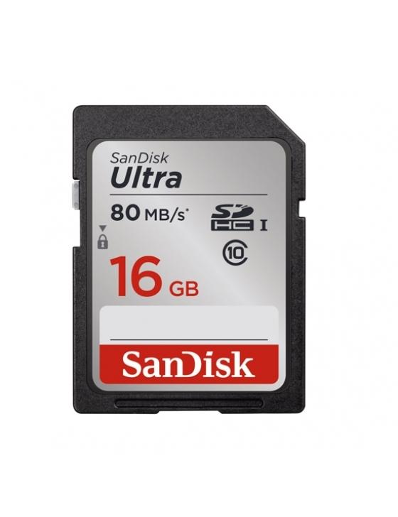 SDHC 16GB Ultra  80MB/sec UHS-I Class 10