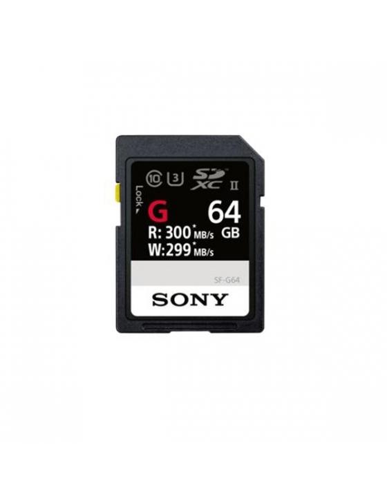 SDXC 64GB  UHS-2 Prof.R300W299 SF-G
