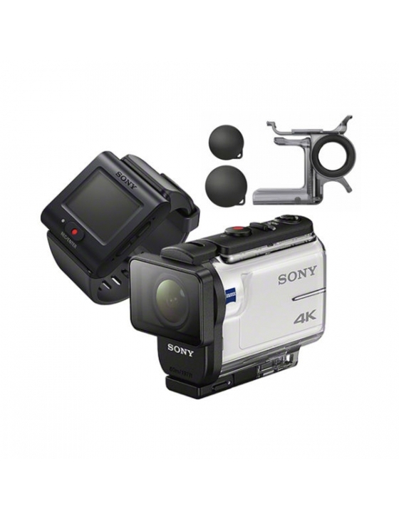 FDR-X 3000R Camcorder weiß Travel Kit