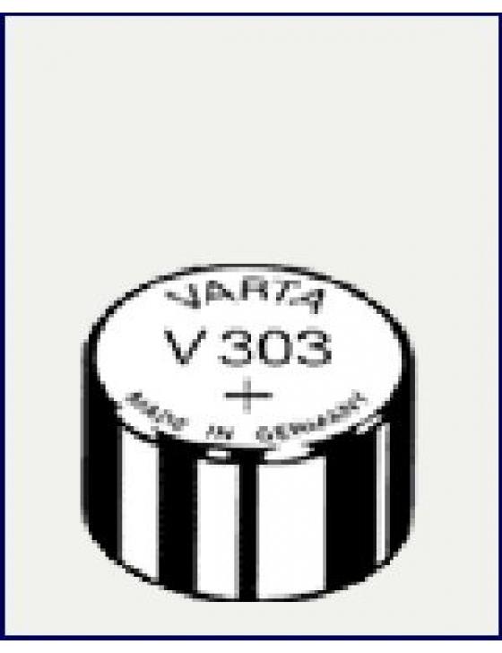 V303  Silber  1,55V  Uhrenbatterie