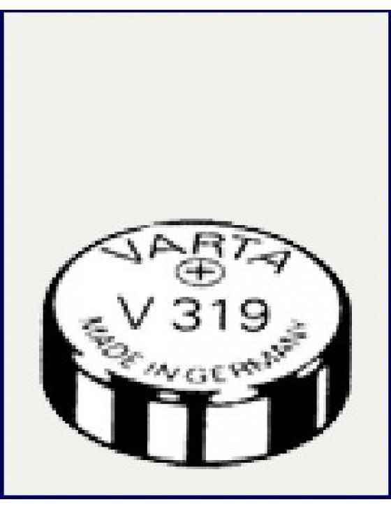 V319  Silber  1,55V  Uhrenbatterie