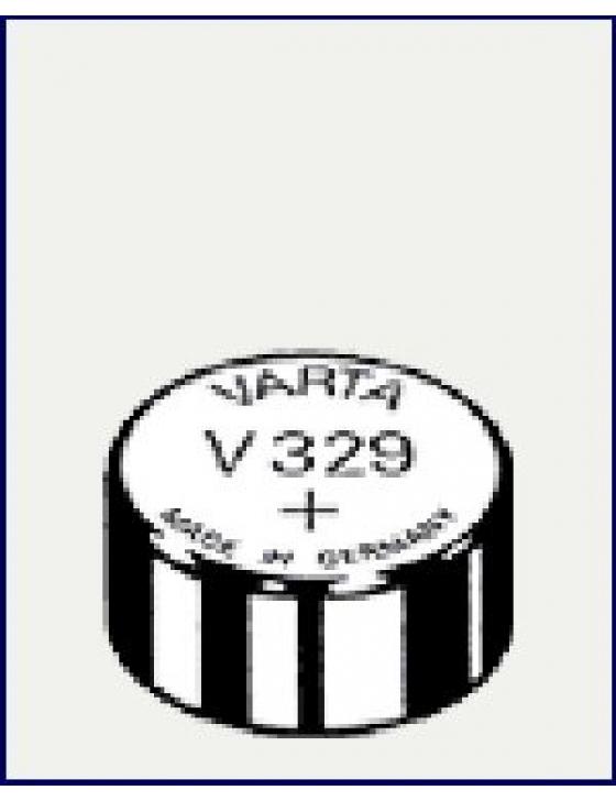 V329  Silber  1,55V  Uhrenbatterie
