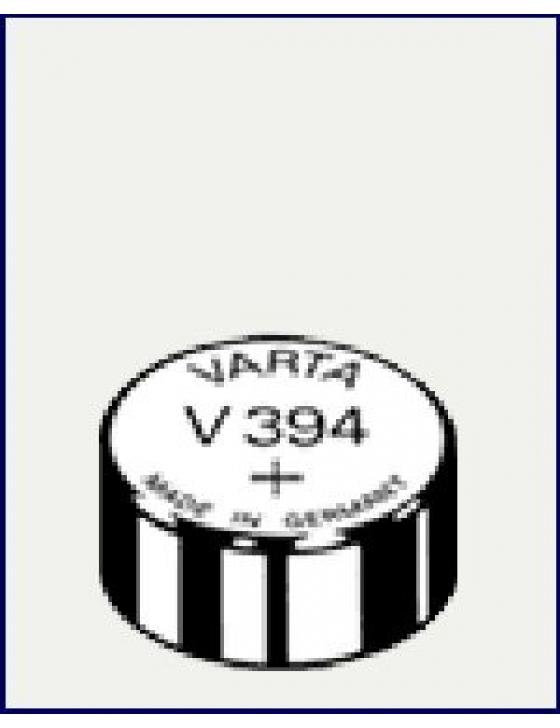 V394  Silber  1,55V  Uhrenbatterie