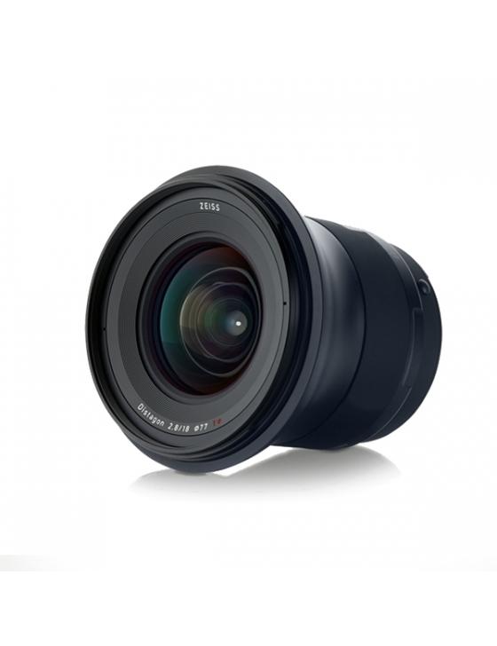 Milvus 2.8/18mm ZE-Mount Canon