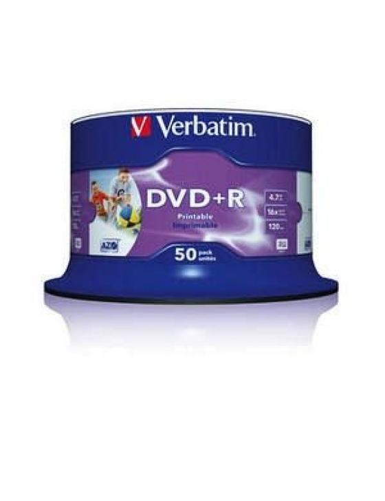 DVD+R 4.7GB 16x Print. Photo / 50er Spindel