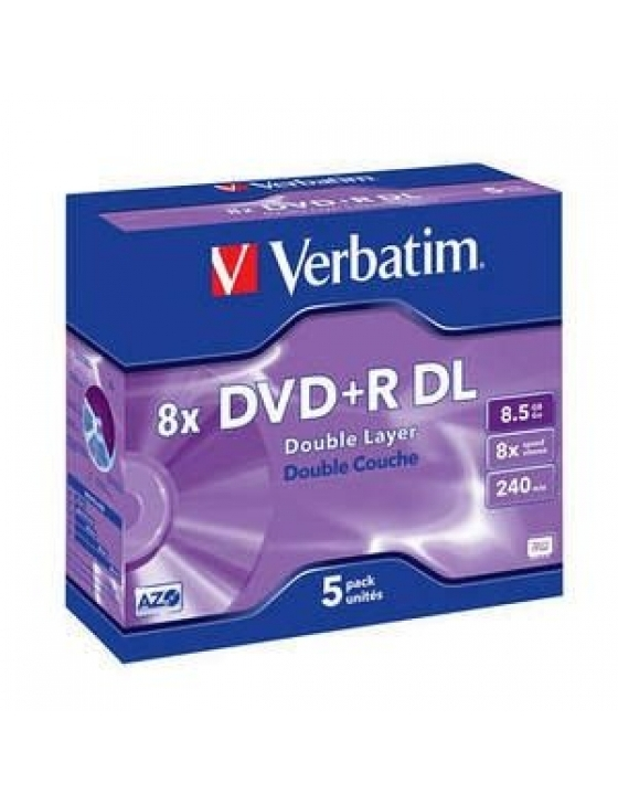DVD+R 8.5GB 8x DOUBLE LAYER / 5