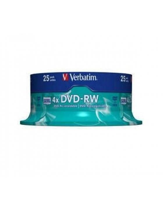 DVD-RW 4.7GB 4x /25er Spindel