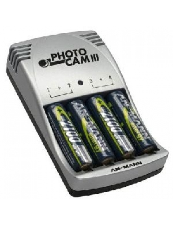 Photo-Cam Power-Set III inkl. 4 x AA Akku 2850mAh