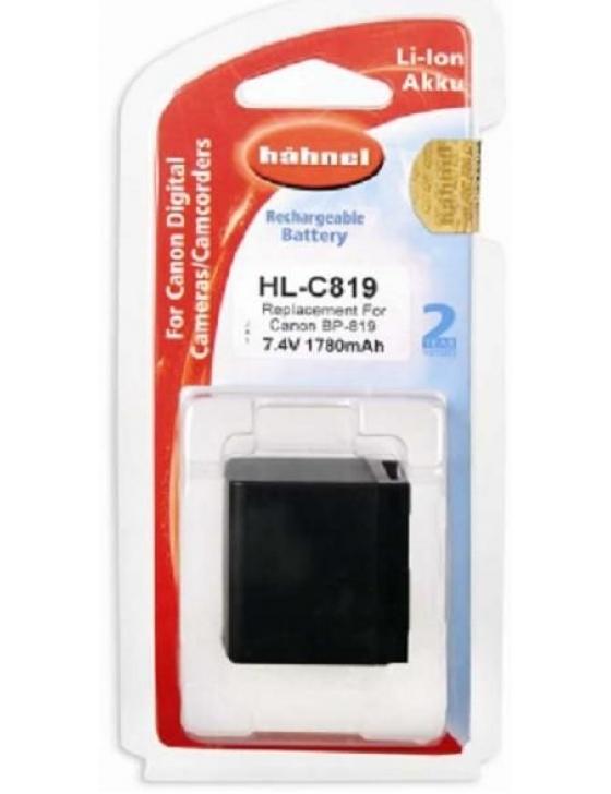 Akku HL-C819 Canon  7,4V  1780mAh