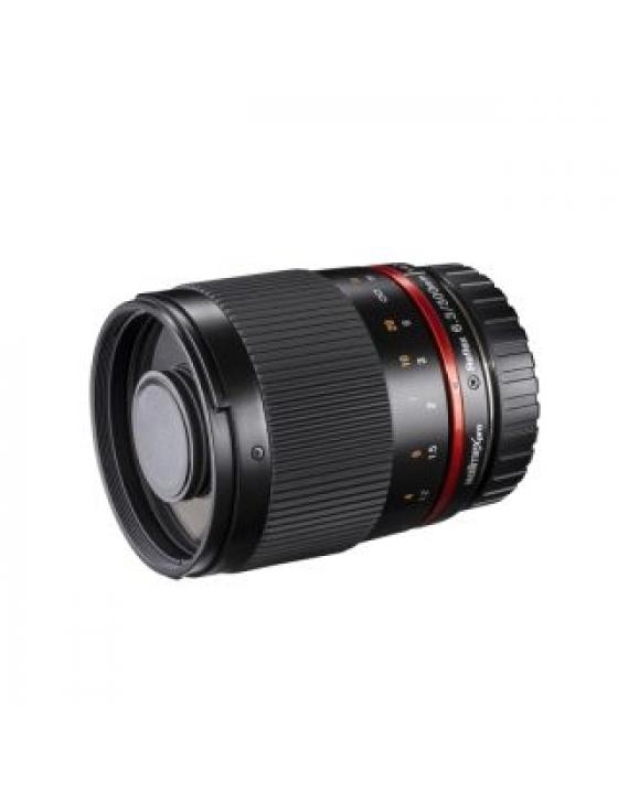 pro 300/6,3 Teleobjektiv f. Fuji X schwarz