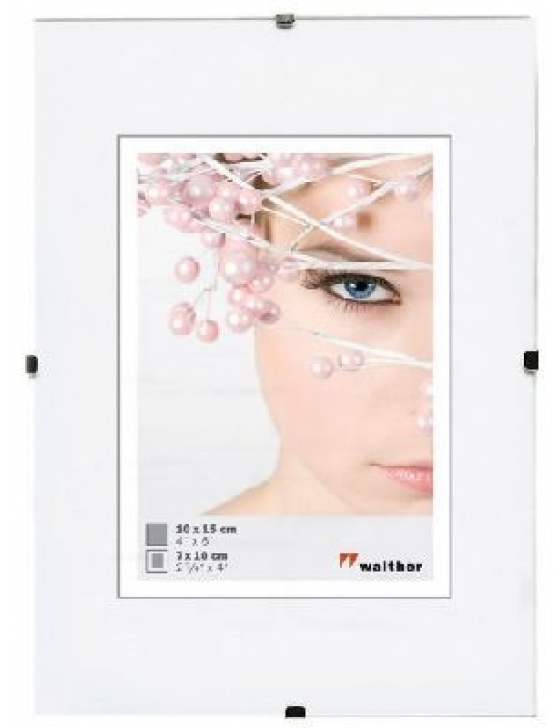 Rahmenlose Bildhalter 013X018 ANTIREFLEXGLAS