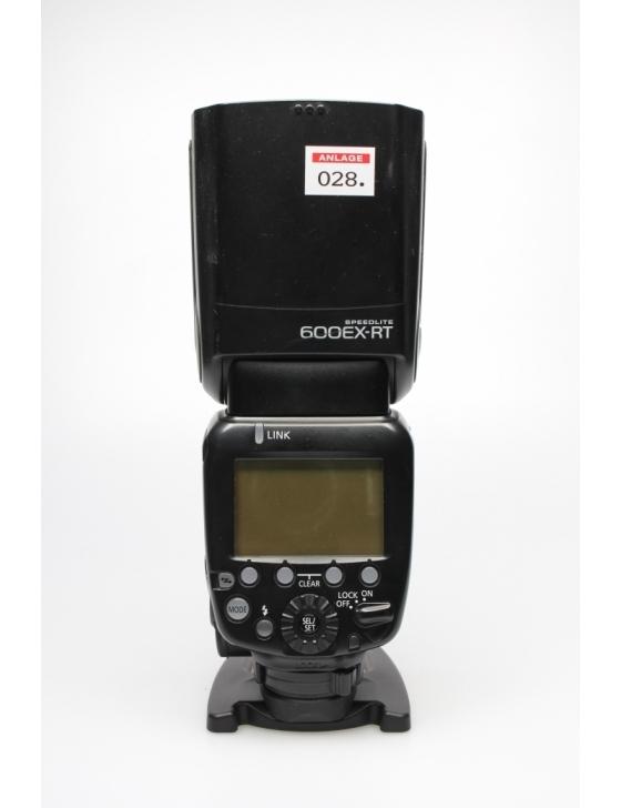 2nd Hand 600 EX-RT Systemblitz / ohne Garantie auf Blitzröhre