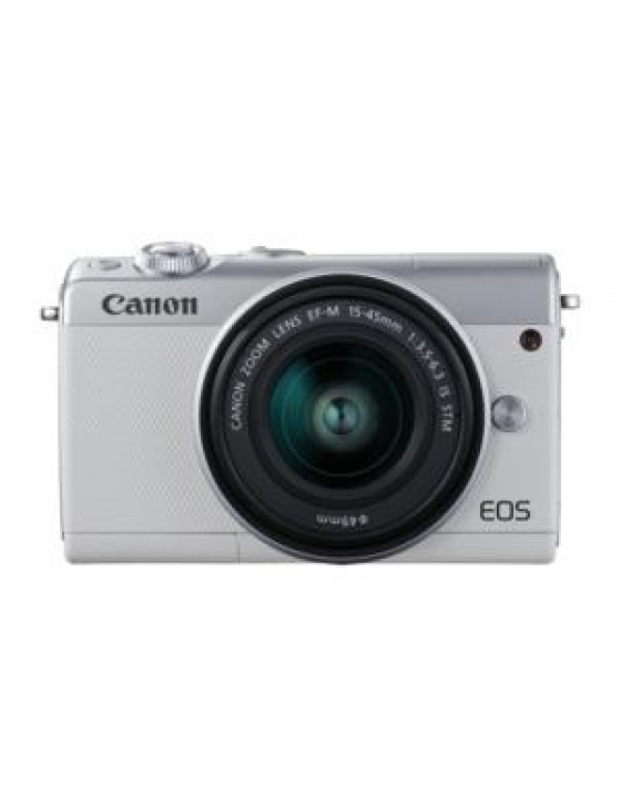 EOS M100  15-45mm Kit  weiss