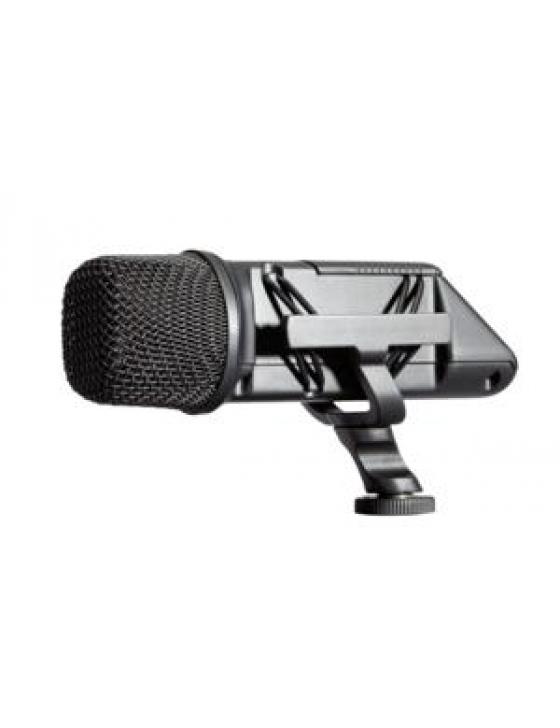 Stereo Videomic Mikrofon Kondenser