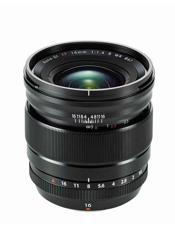 Objektiv XF 16mm F1.4 R WR