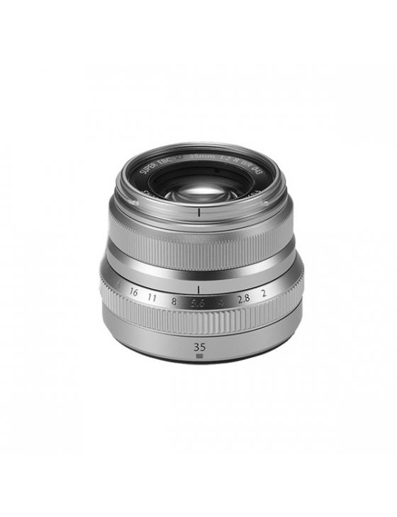 Objektiv XF 35mm F2 WR silber