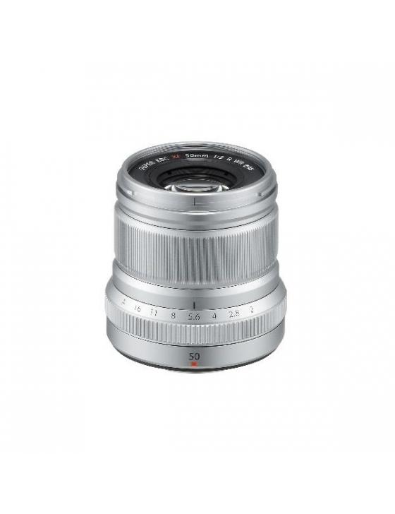 Objektiv XF 50mm F2 R WR silber