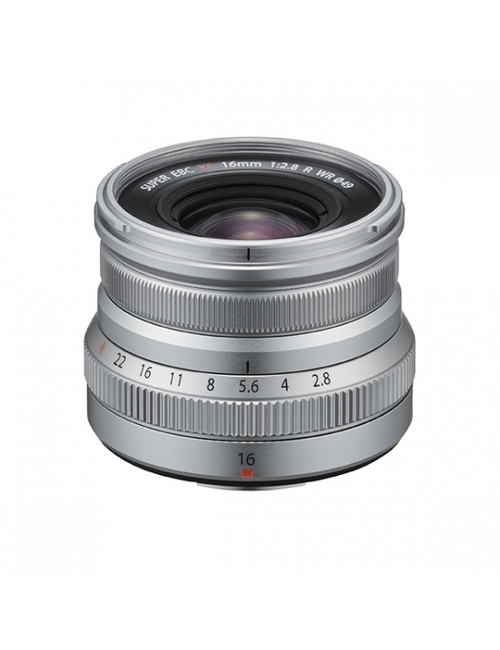 Objektiv XF 16mm F2.8 R WR silber