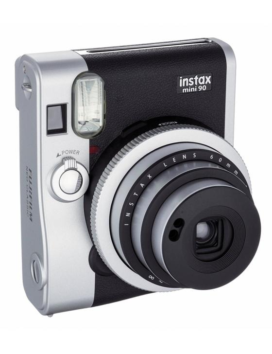 Instax Mini 90 Kamera schwarz incl. Akku,Ladegerät,Tragegurt