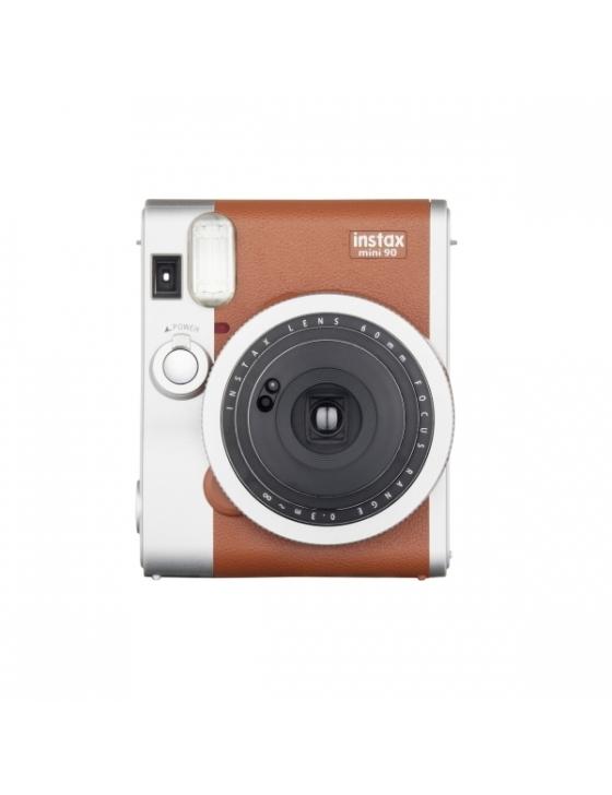 Instax Mini 90 Kamera braun incl. Akku,Ladegerät,Tragegurt