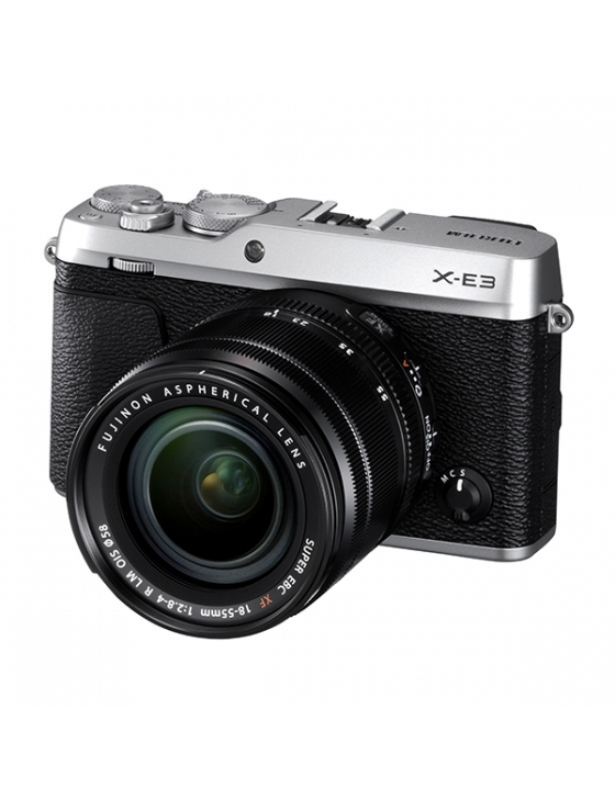 X-E3 Kit inkl. XF 18-55 F2.8-4 R LM OIS silber