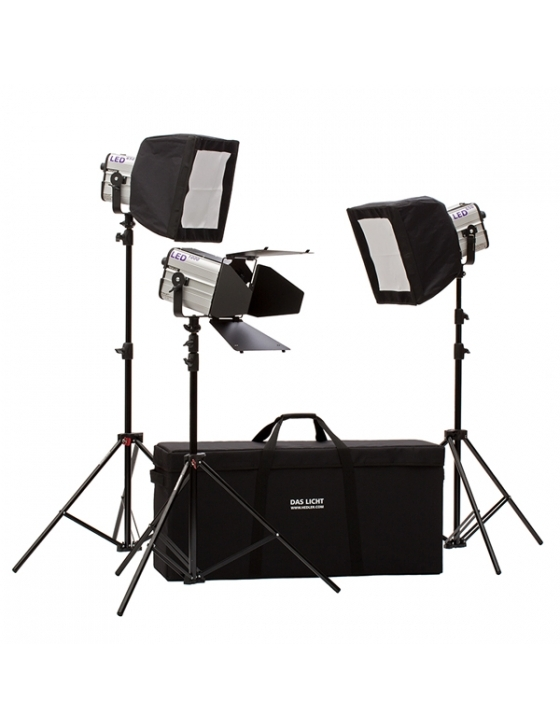Profilux LED 650 - Video Pro Kit