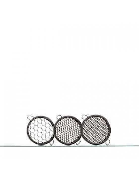Honeycomb 3er Set für MaxiSpot 65mm