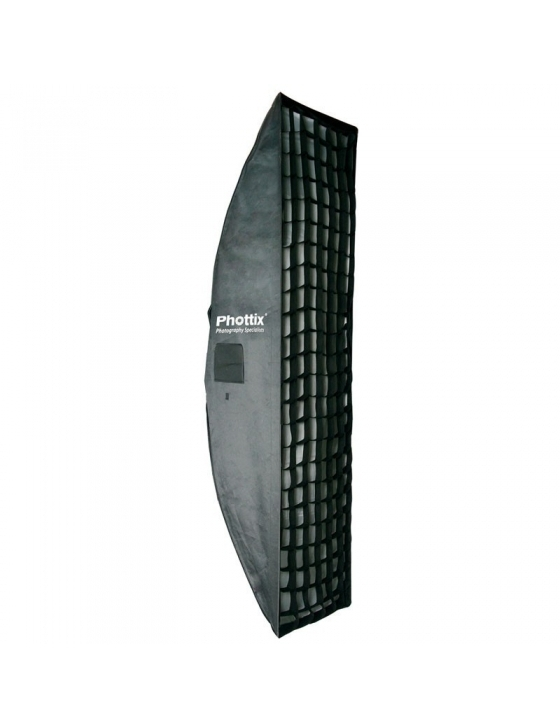 "2 in 1 Strip Softbox With Grid 40x180cm (16x71"")"
