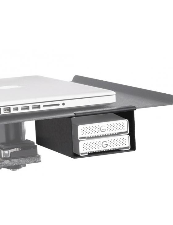 Aero XDC Duo - externes Laufwerkfach Duo, schwarz