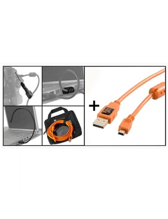 Starter Tethering Kit w/ USB 2.0 Mini-B 5 Pin Kabel 15`/4,6m ORG