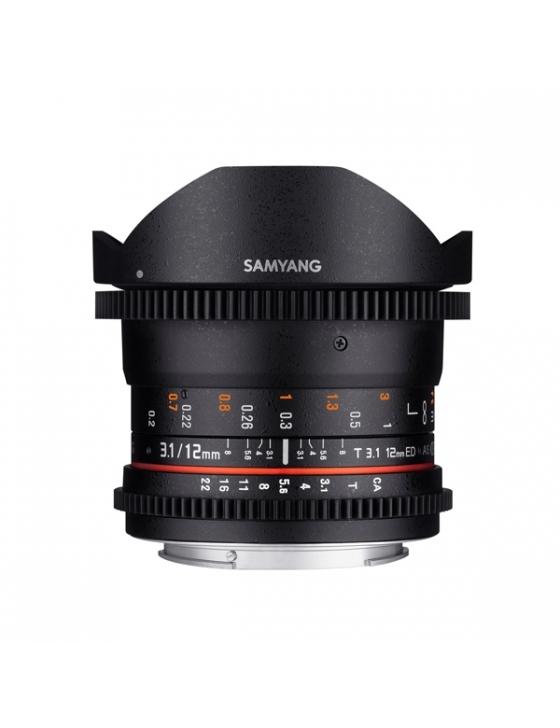 12mm/T3.1 VDSLR Fisheye für Canon EF  *DEMO*