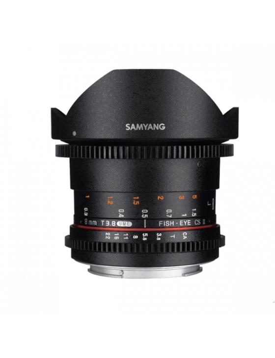 8mm T3.8 VDSLR Fisheye II für Canon EF