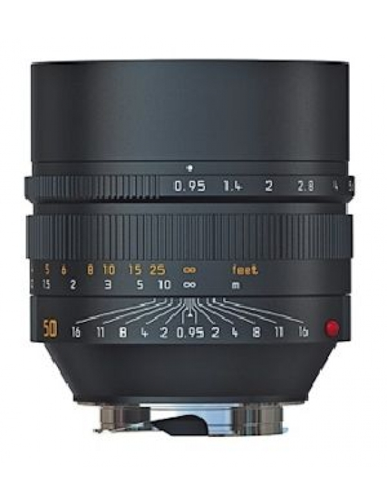 NOCTILUX-M 1:0,95/50mm ASPH.schwarz eloxiert