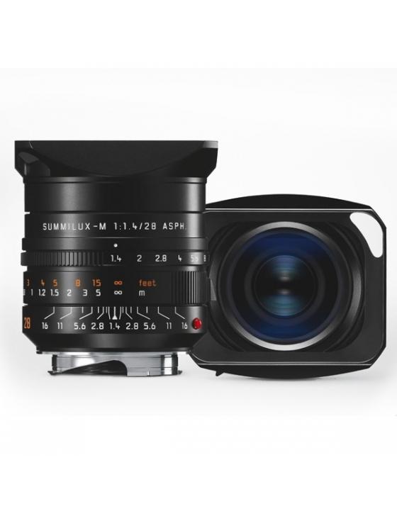 SUMMILUX-M 1.1,4/28 mm ASPH. schwarz eloxiert