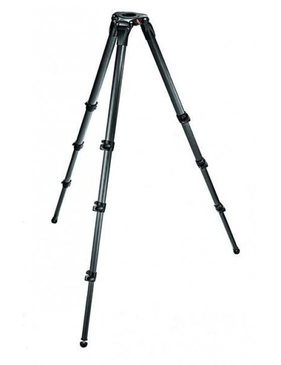 MPRO-VIDEO-STATIV M. 75/100 MM HALBSCHALE, MONOTUBE, 3 AUSZ.
