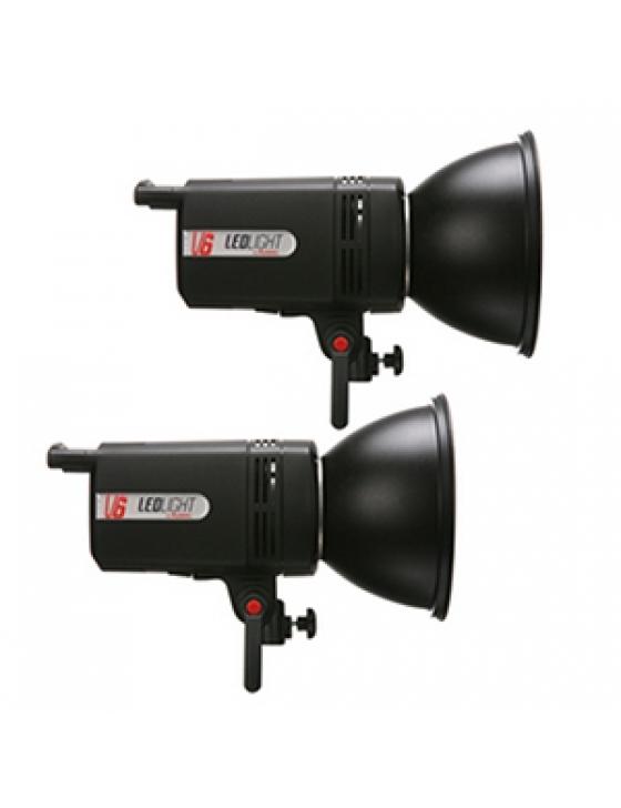 V6 LED-Light 4000k (6000lm) Kit B
