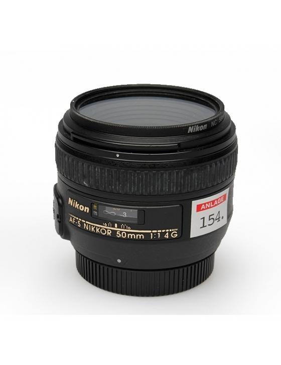 2nd Hand AF-S 50mm / 1,4 G #444768