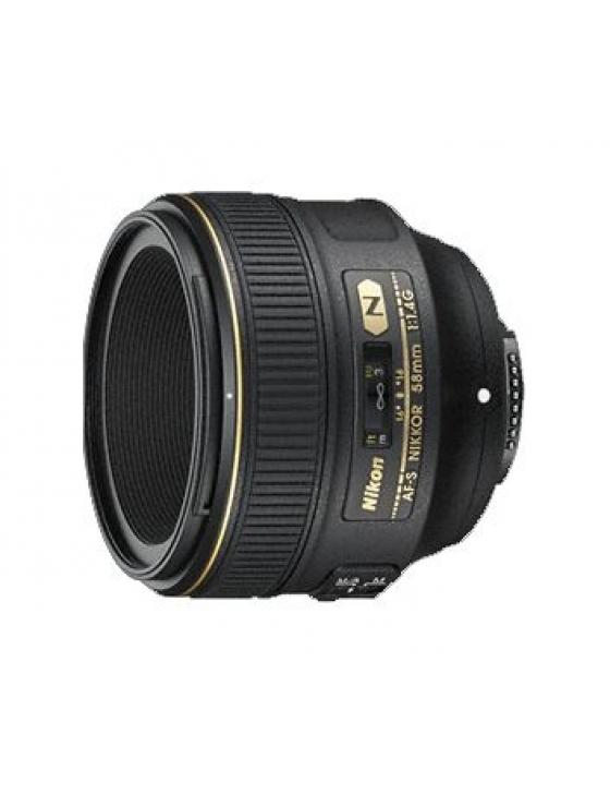 AF-S 58mm/1,4 G