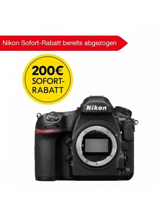 D850 Gehäuse + Nikon Sofort-Rabatt 200,- bereits abgezogen