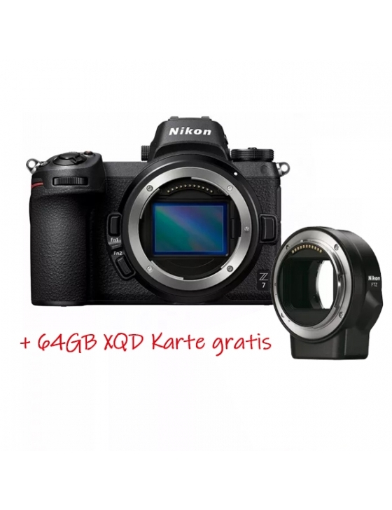 Z7 Kit 24-70mm 1:4 S + FTZ Adapter + 64GB XQD
