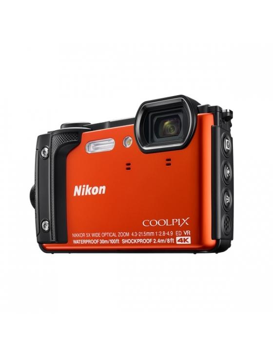 Coolpix W300 orange inkl. Nikon Rucksack