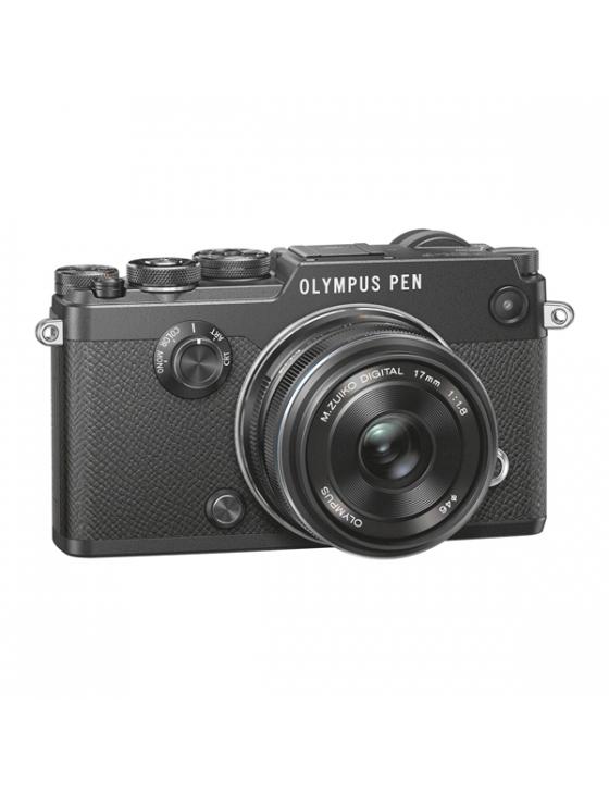 PEN-F  17mm 1:1.8 Kit schwarz/schwarz