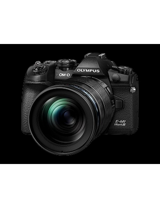 E-M1 Mark III 12-100mm kit blk/blk