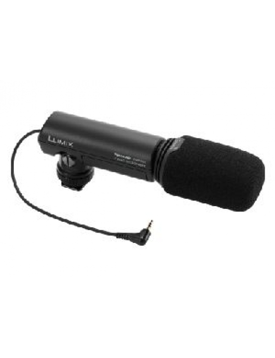 DMW-MS1E Externes Stereomikrofon f. GH-1 Schuh