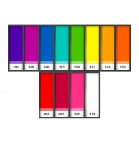 Colour Magic Farbfilterfolien Saturates Pack
